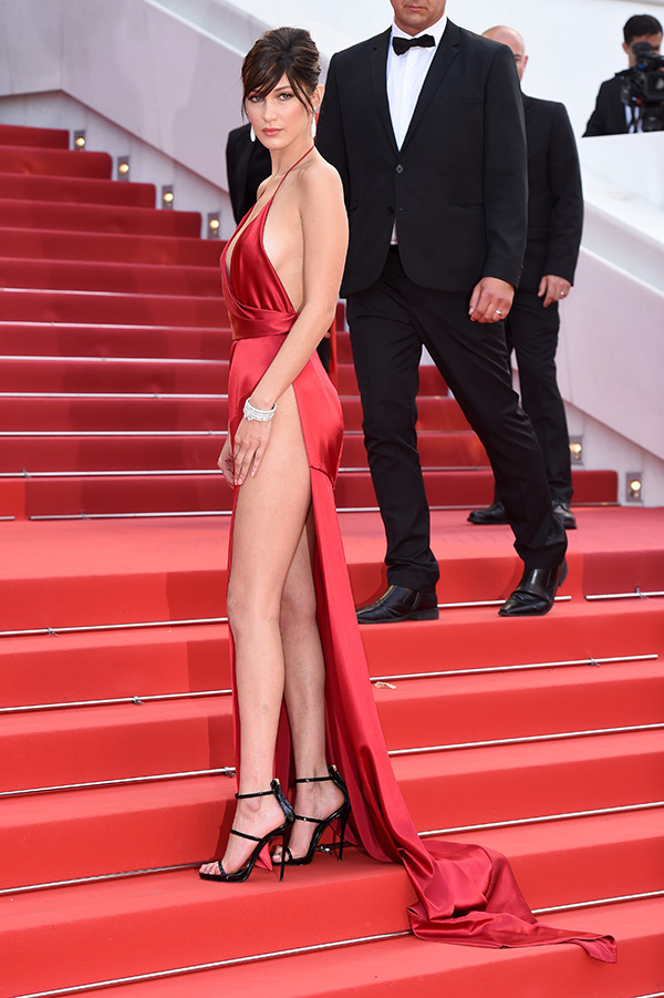 Bella Hadid cannes red carpet 10