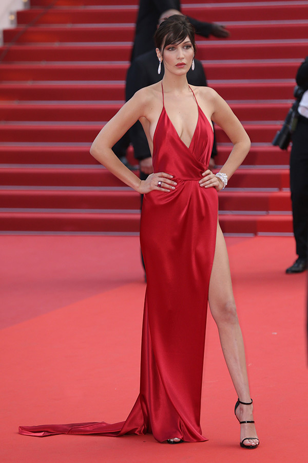 Bella Hadid cannes red carpet 12