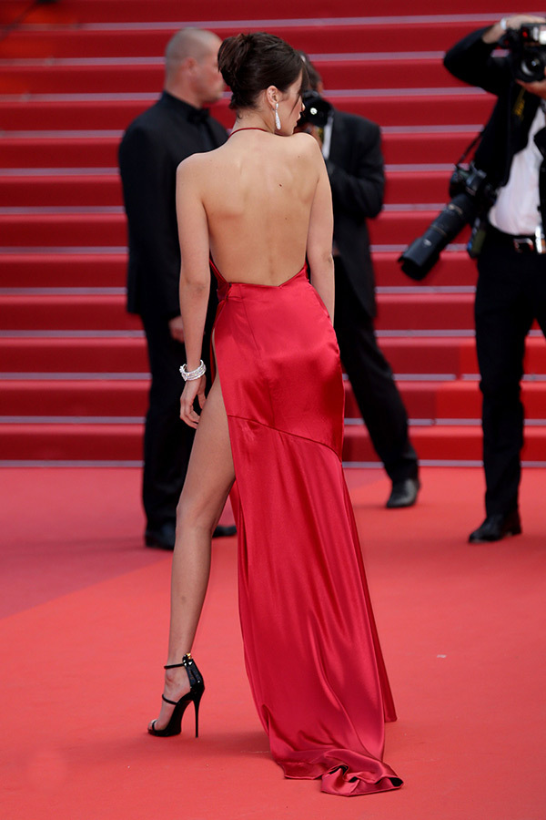 Bella Hadid cannes red carpet 14