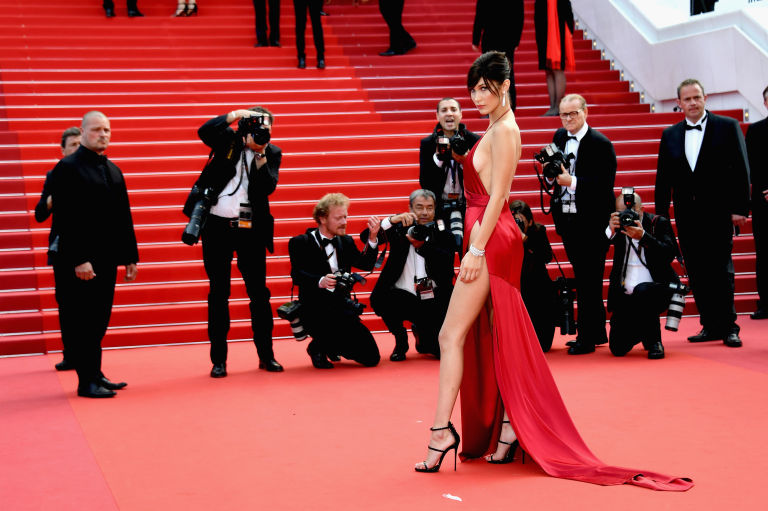 Bella Hadid cannes red carpet 15