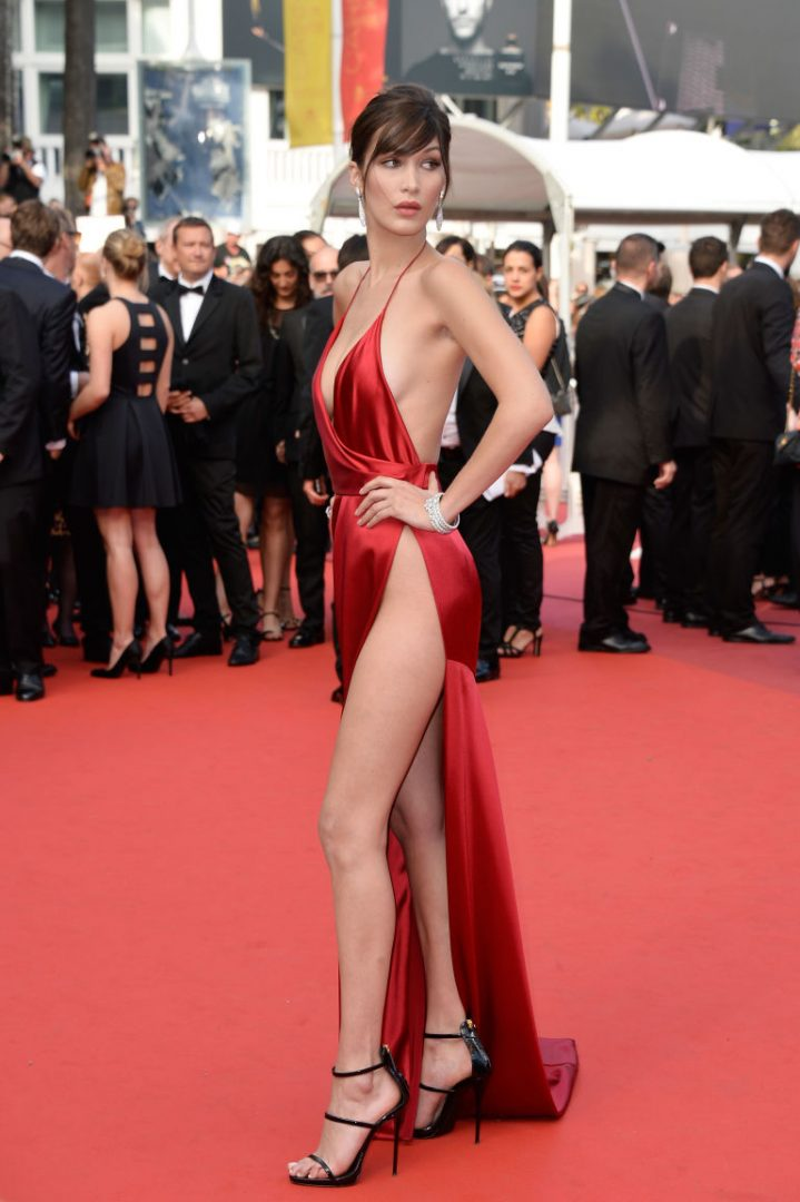 Bella Hadid cannes red carpet 16