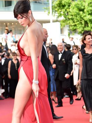 Bella Hadid cannes red carpet 19