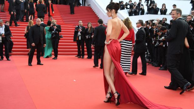 Bella Hadid cannes red carpet 21