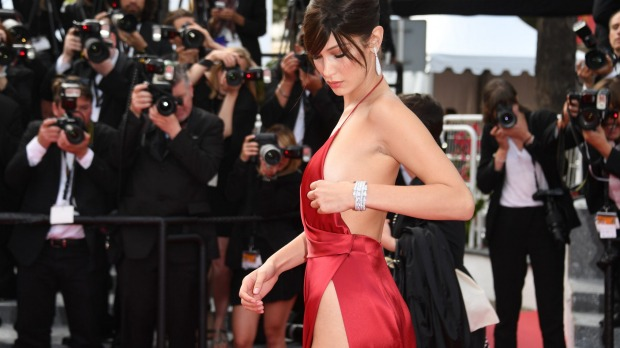 Bella Hadid cannes red carpet 22