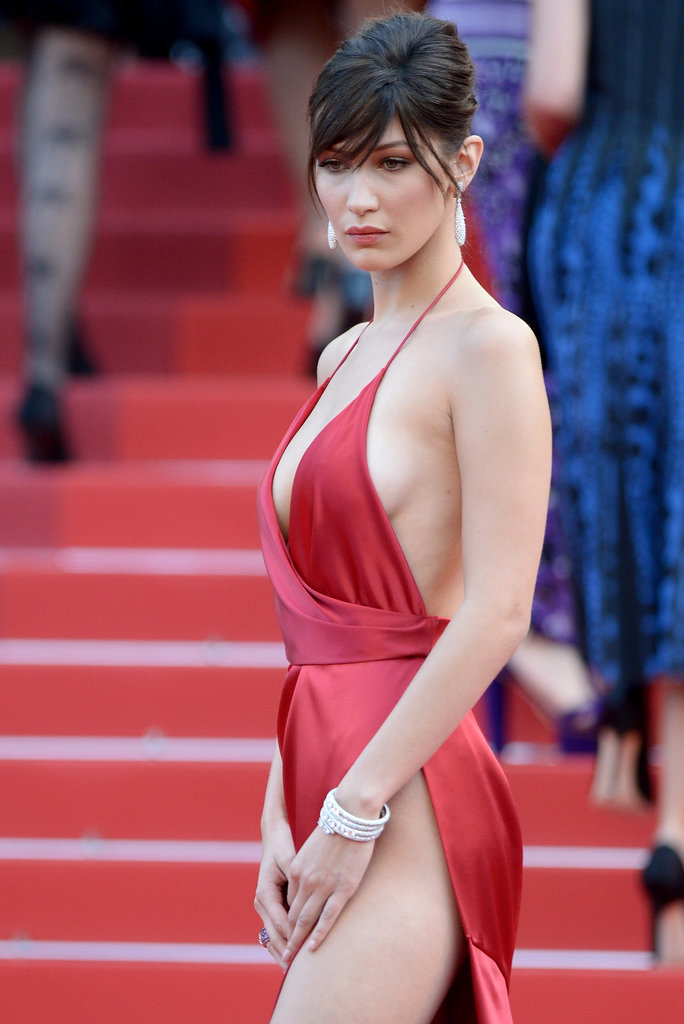 Bella Hadid cannes red carpet 24