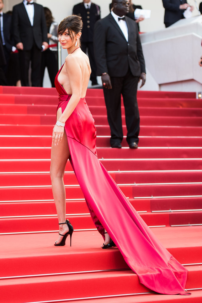 Bella Hadid cannes red carpet 25