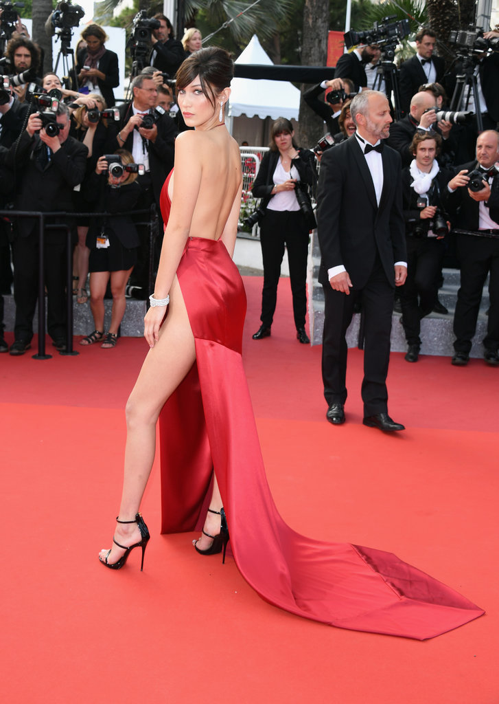 Bella Hadid cannes red carpet 29