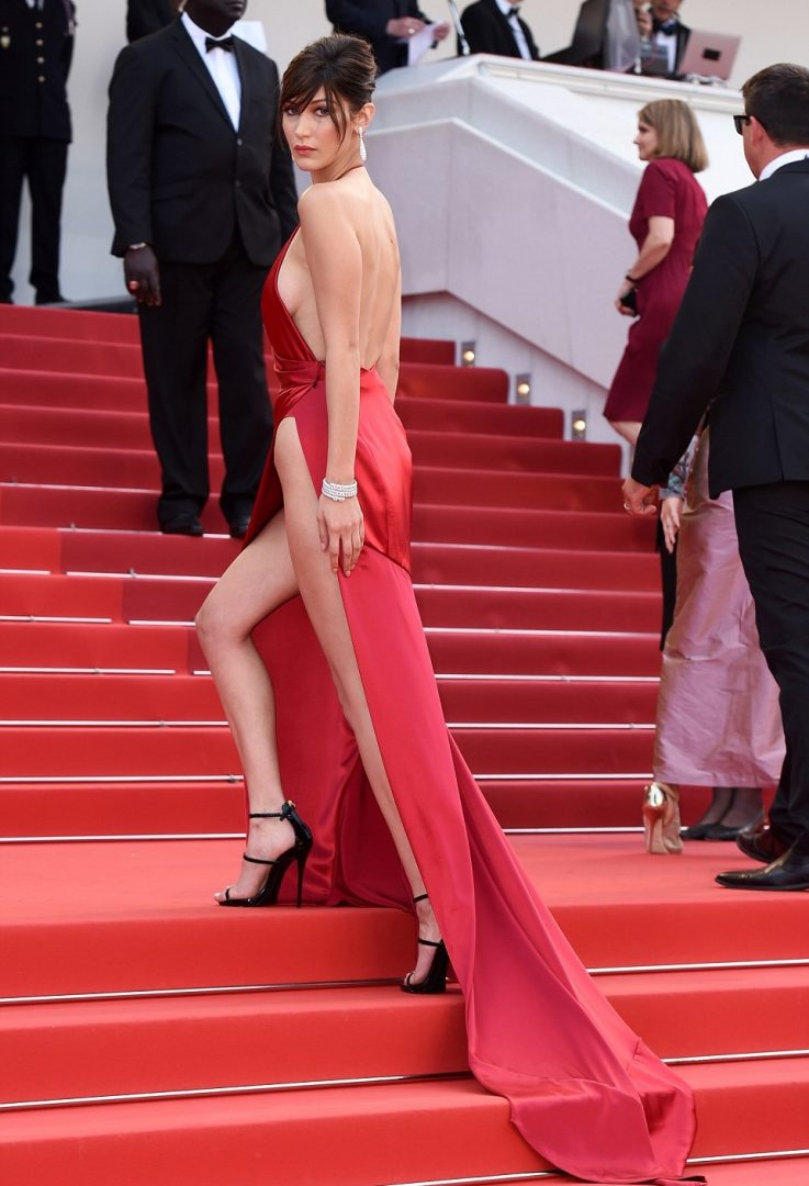 Bella Hadid cannes red carpet 3