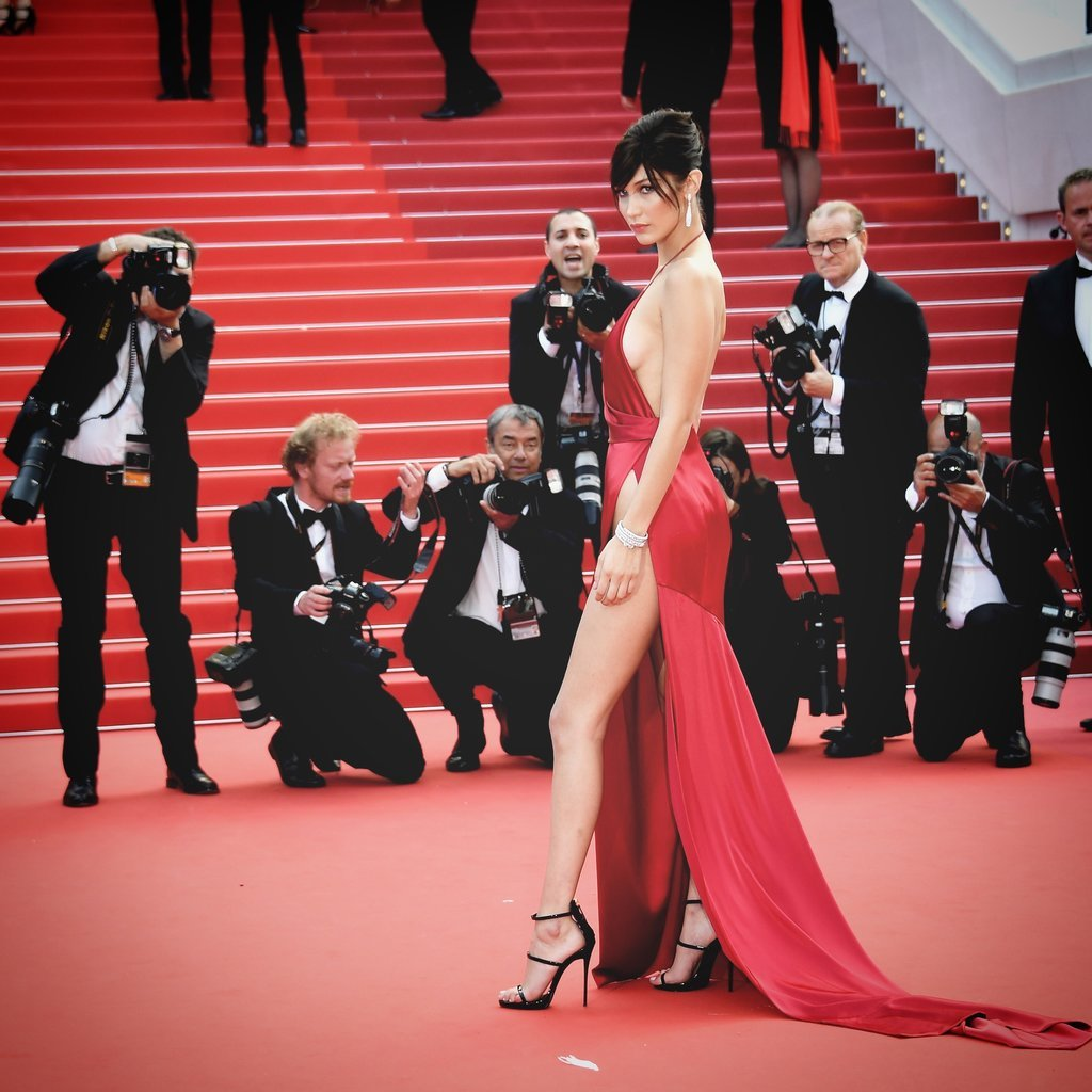 Bella Hadid cannes red carpet 31