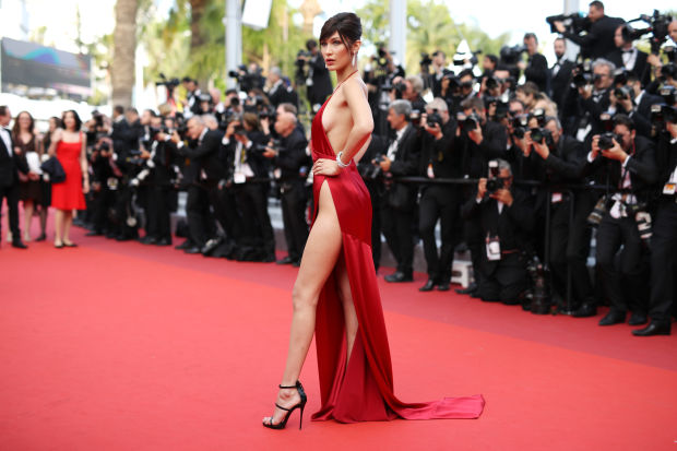 Bella Hadid cannes red carpet 32