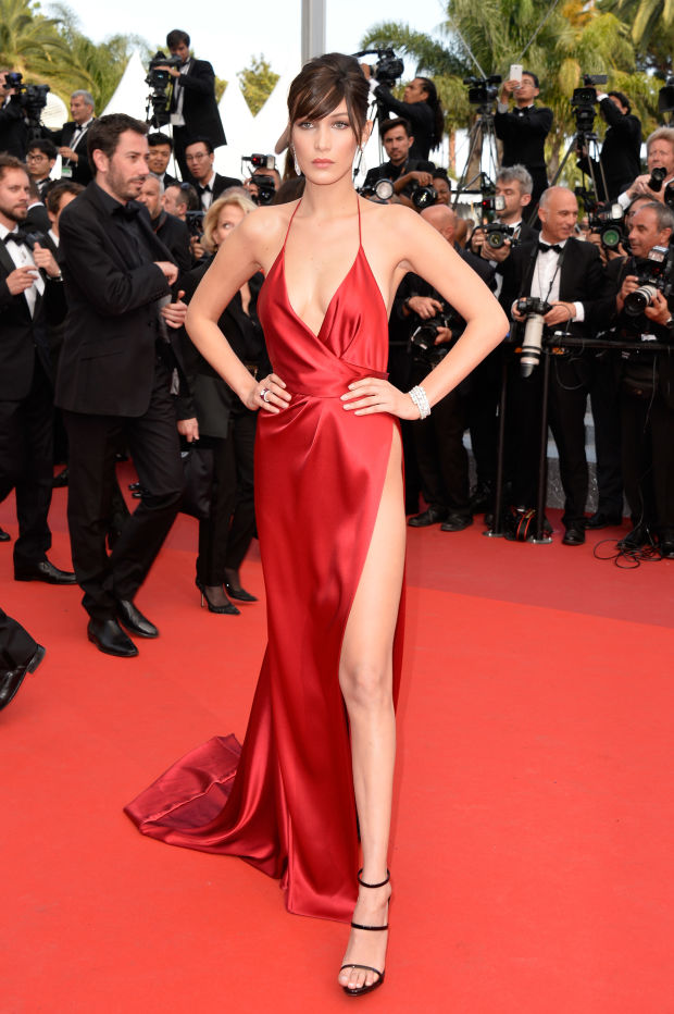 Bella Hadid cannes red carpet 33