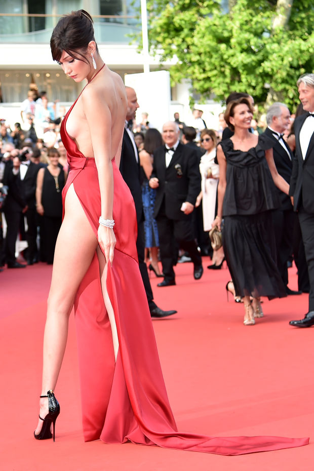 Bella Hadid cannes red carpet 37
