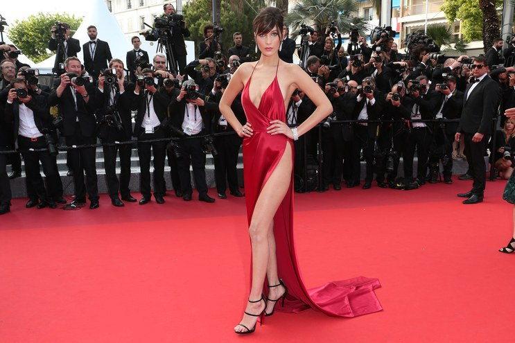 Bella Hadid cannes red carpet 39