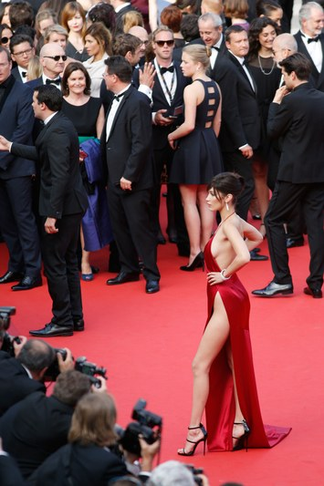 Bella Hadid cannes red carpet 40