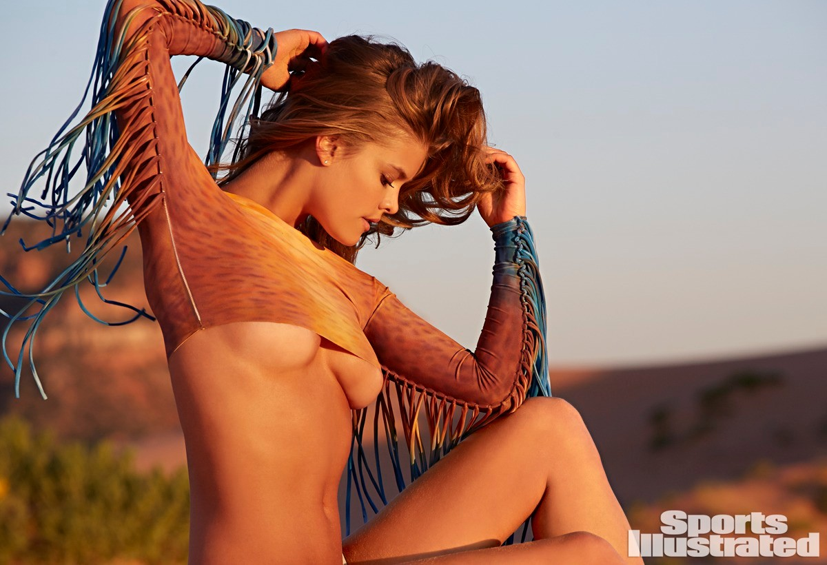 Swimsuit 2015: Natural Beauty Nina Agdal Various/NA, NA, USA 6/18/2014 X158332 TK2 Credit: James Macari Swimsuit by Indah