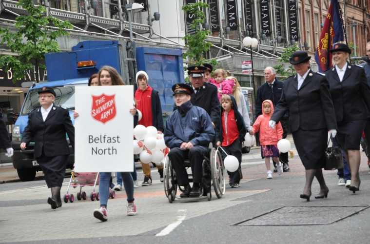 March of witness Belfast North