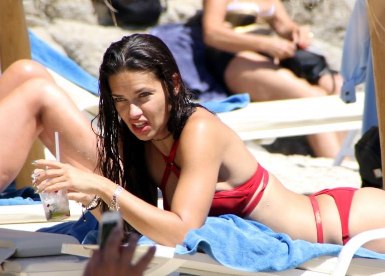 Adriana Lima bikini mykonos 2016 25