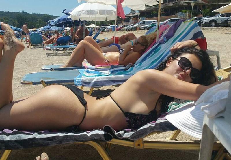 Eirini Parisi Hot Bikini 2016 2