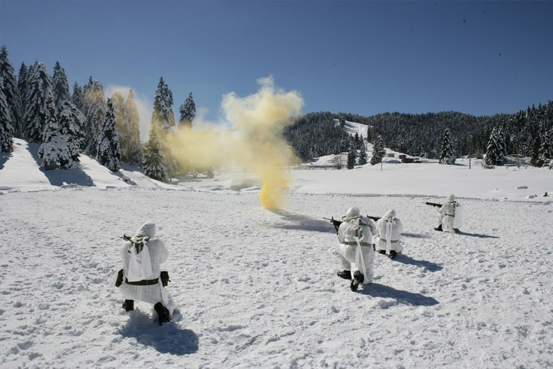 Γυμνάσια στο χιόνι