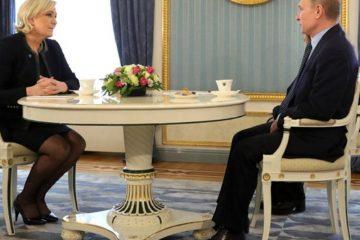 συνάντηση Πούτιν-Λεπέν