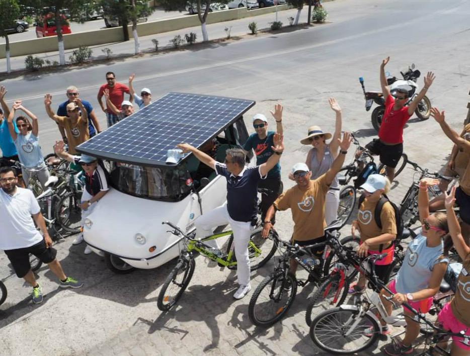 ηλιακό όχημα