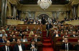 καταλανικό κοινοβούλιο