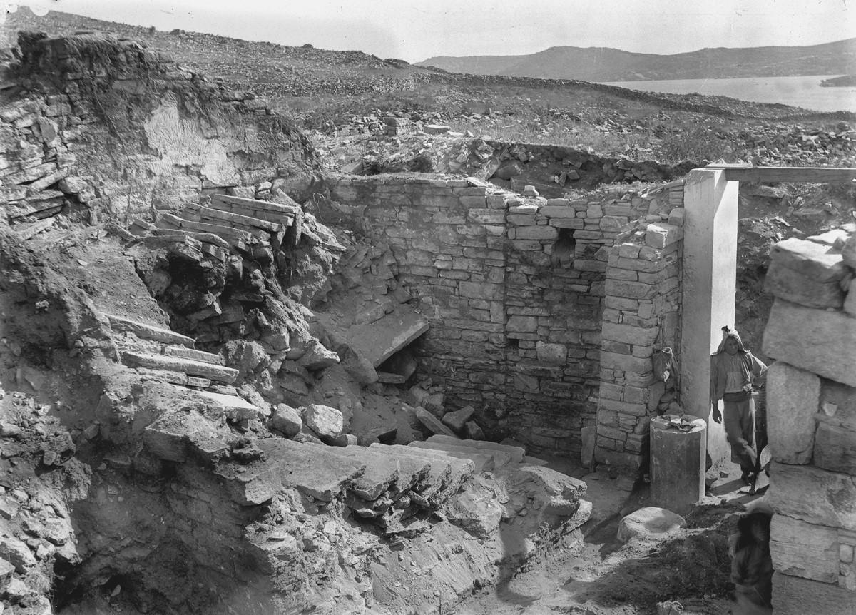 ανασκαφές στις Κυκλάδες