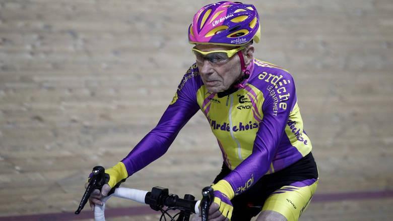 γηραιότερος ποδηλάτης