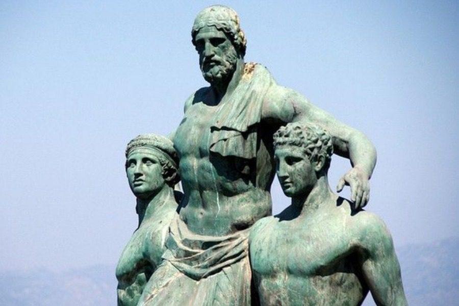 Έλληνα Ολυμπιονίκη Διαγόρα